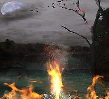 Lotus Fire by karlie67