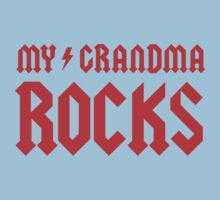My Grandma Rocks! Kids Clothes
