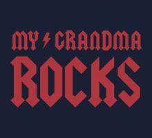 My Grandma Rocks! One Piece - Short Sleeve