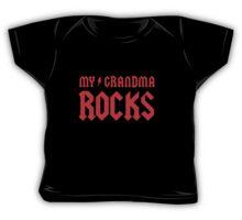 My Grandma Rocks! Baby Tee