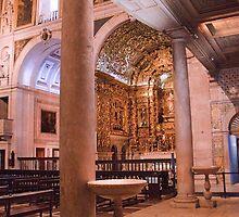 Colunas à entrada da Igreja de S. Roque by terezadelpilar~ art & architecture