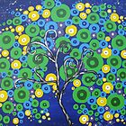 peacock tree II by cathyjacobs