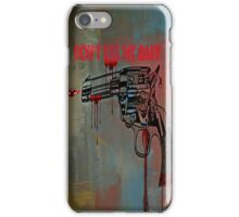 Don't kill my baby iPhone Case/Skin