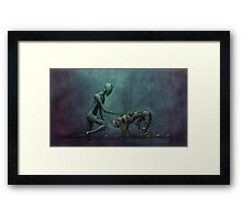 If Not You, Who? Framed Print