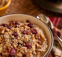 Oatmeal - Comfort food for breakfast by Jerry Deutsch