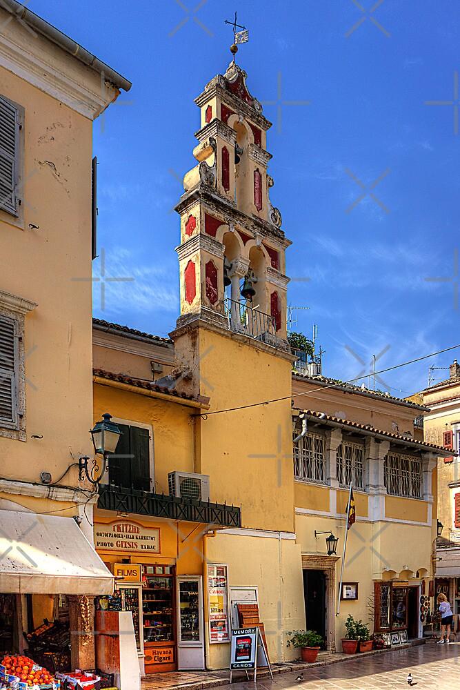 Aghios Vasilios Church by Tom Gomez