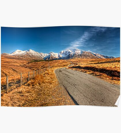 Road To The Cuillins Poster