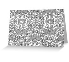 Untitled Pattern Greeting Card