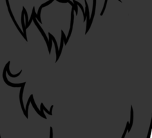 Bouvier des Flandres - Black Sticker