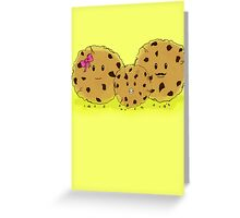 Chocolate Chip Cookie Family Greeting Card