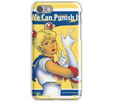 We Can Punish It! iPhone Case/Skin