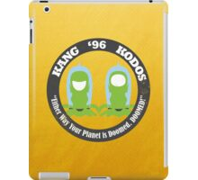 Vote Kang - Kodos '96 — Sticker iPad Case/Skin