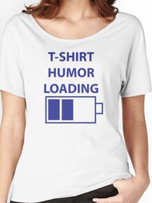Loading Humour Battery Women's Relaxed Fit T-Shirt