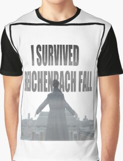Reichenbach Fall Graphic T-Shirt