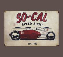 S0-Cal Hot Rod Shop Sign by Michael Gulett