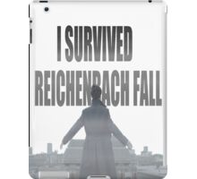 Reichenbach Fall iPad Case/Skin