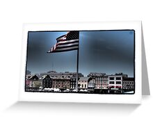 French Quarter Patriot Greeting Card