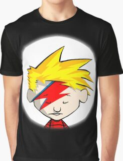Calvin Hobbes Stardust Graphic T-Shirt