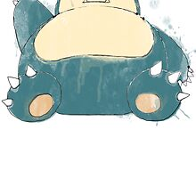 Painted Snorlax! by minun3