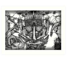 Dragon Kingdom Art Print