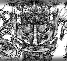 Dragon Kingdom by OnePortraitArt