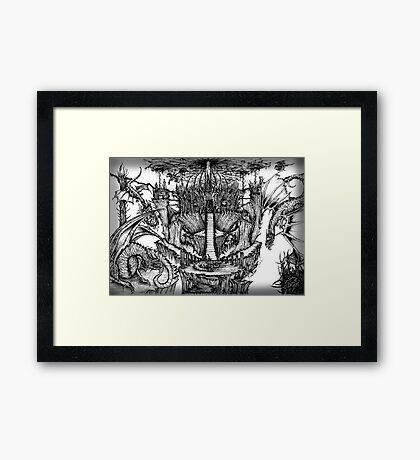 Dragon Kingdom Framed Print