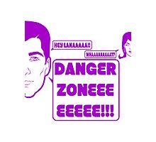 Dangah Zone PURPLE Photographic Print