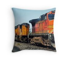 El Paso to Santa Fe... Throw Pillow