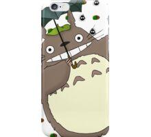 Totoro Cat bus iPhone Case/Skin
