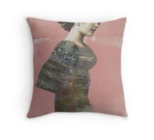 Lady of My Lake Throw Pillow