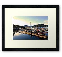 Harbor Framed Print