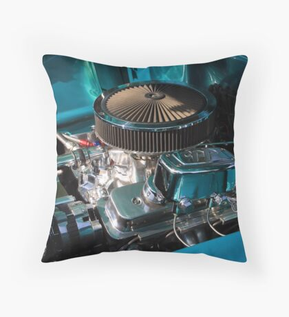 Something Shiny Under the Hood Throw Pillow