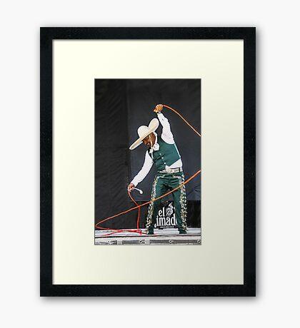 Lariat Master Framed Print