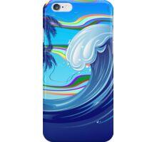 Sea Ocean big Wave Water  iPhone Case/Skin