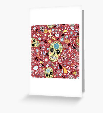 Laughing Skull Greeting Card
