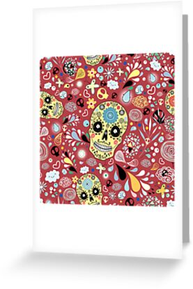 Laughing Skull by Tanor