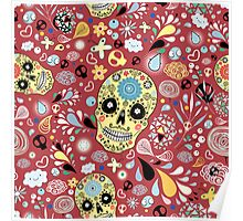 Laughing Skull Poster