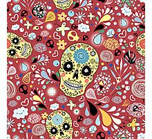 Laughing Skull Photographic Print