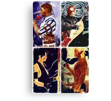 Origins romances Canvas Print