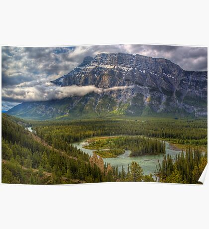 Bow Valley Green Poster