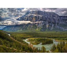 Bow Valley Green Photographic Print