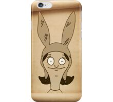 Louise Scroll iPhone Case/Skin