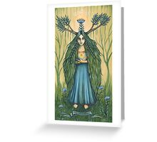 Alyenora -the Seed Keeper Greeting Card