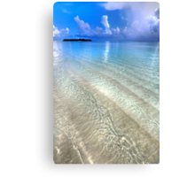 Crystal Water of the Ocean Canvas Print