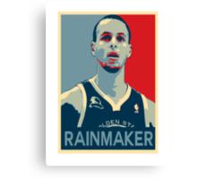 Stephen Curry - Rainmaker Canvas Print