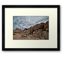 Mystery Place Framed Print