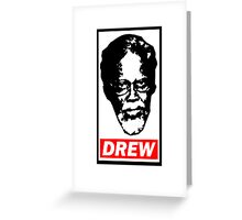 Obey - Uncle Drew Greeting Card