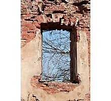 window aperture Photographic Print
