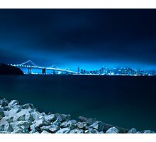 San Francisco w/ Bay Bridge Photographic Print