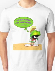 Martin The Martian Angry T-Shirt